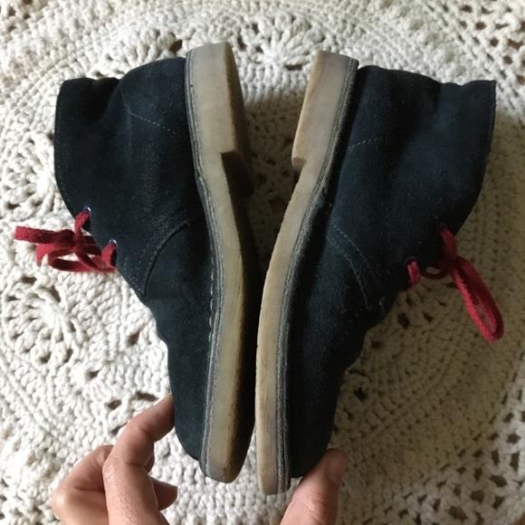 8100dc17f86cb Shoes | Clarks Boots 135w 32 Boys Toddler Leather Desert | Poshmark